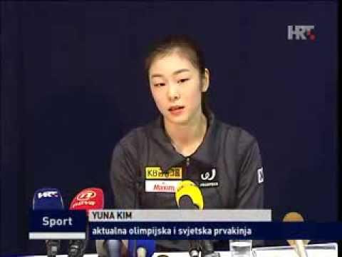 [2013.12.05] 김연아 Yuna KIM News (HRT) Golden Spin of Zagreb 2013