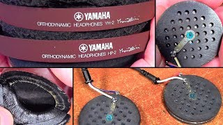 Ремонт (№13) японо-аудио. Yamaha HP-2. [Запись]
