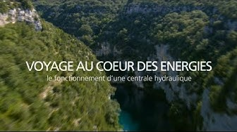 Comment une centrale hydraulique utilise le déplacement de l'eau pour créer de l'électricité - EDF
