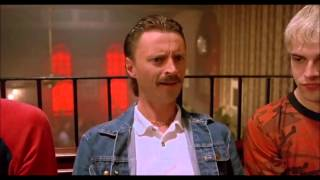 Begbie Trainspotting acting like a hard cunt eh?