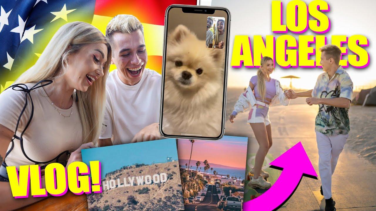 WYJECHALIŚMY DO LOS ANGELES! *VLOG*