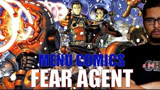 FEAR AGENT - MENU COMICS