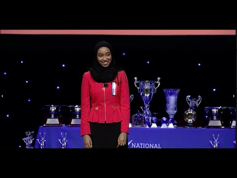 NSDA 2018 Original Oratory National Champion - Halima Badri