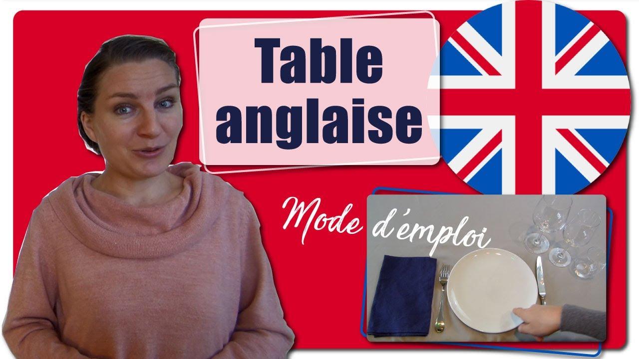 Dresser Une Table À L Anglaise comment dresser une table à l'anglaise ? placement des couverts et  alignement des verres ?