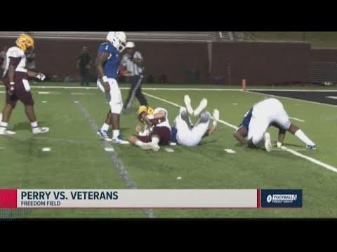 Perry Vs. Veterans 2019 Georgia High School Football Highlights (Week 6)
