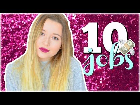 10 JOBS POUR SE FAIRE DE L'ARGENT DE POCHE | BeYourself
