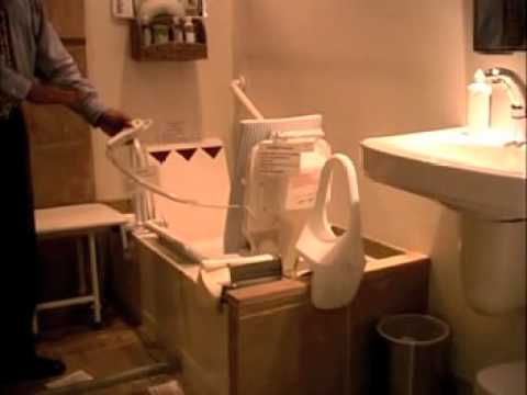 Bath Lift - Electric - YouTube