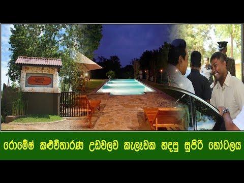 රොමේෂ් කළුවිතාරණ උඩවලව කැලේක හදපු සුපිරි හෝටලය - Romesh Kaluwitharana Hotel