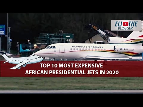 Top 10 Most Expensive African Presidential Jets in 2020