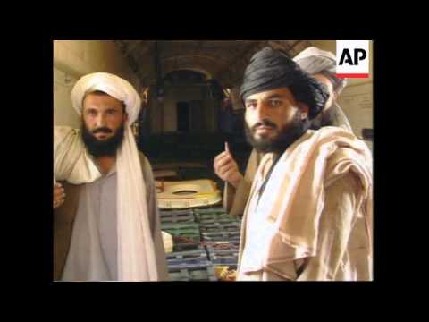 AFGHANISTAN: TALIBAN MILITANTS REFUSE TO HAND BACK AIRCRAFT