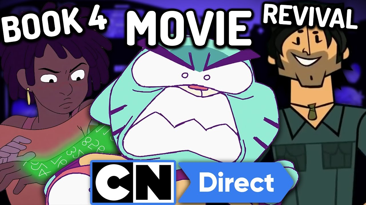 Download GUMBALL MOVIE, Infinity Train BOOK 4, Total Drama Island REVIVAL & More! Cartoon Network Direct 2021
