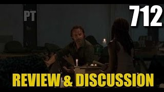 The Walking Dead Season 7 Episode 12 Review & Discussion TWD 712