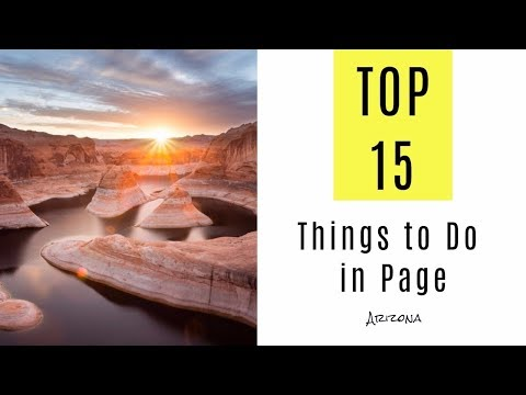 Top 15. Attractions & Things to Do in Page, Arizona