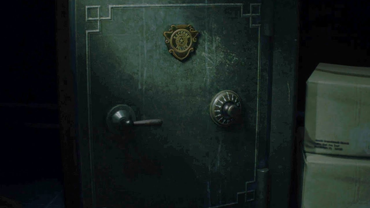 West Office Safe Combination Location Resident Evil 2 Remake Youtube