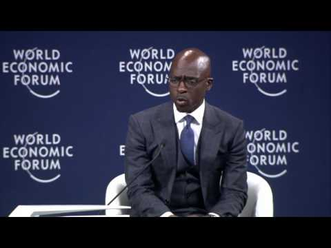 Malusi Gigaba- World Economic Forum Interview