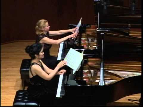 M. Ravel, Ma mère l'oye (Mother Goose Suite) for Two Pianos, four hands