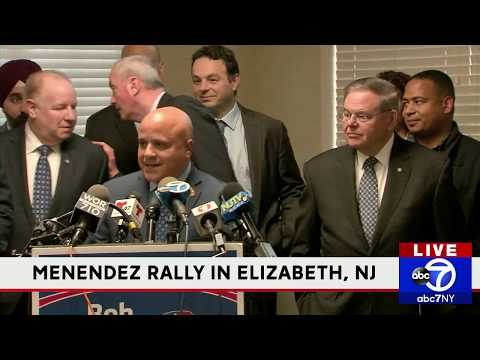 Pre-Election Rally: NJ Sen. Bob Menendez