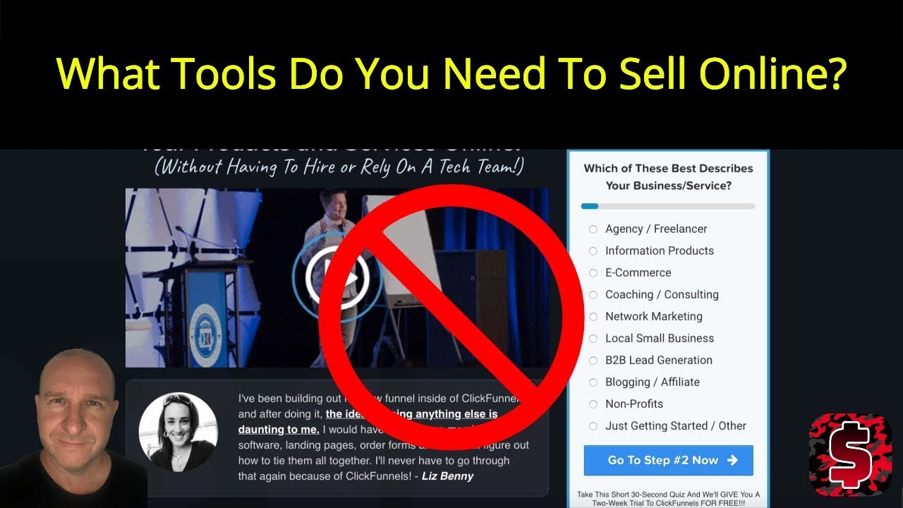 What Tools Do You Need To Sell Online? Getresponse, JVZOO, Clickfunnels ...