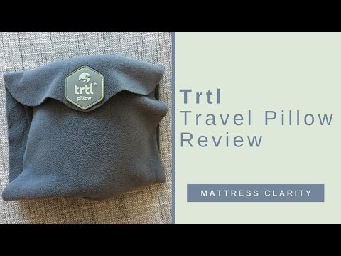 hot sale online d9a14 41d8b Trtl Travel Pillow Review - Best pillow for the middle seat ...