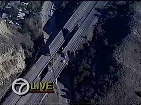 KABC-TV Northridge Earthquake Coverage, January 17, 1994 (Part 1)