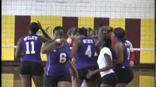 Wiley College vs OK Weslayan Volleyball 2010