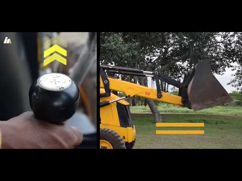 JCB 3DX new technology Operation 2018 – How to Operate a JCB loader