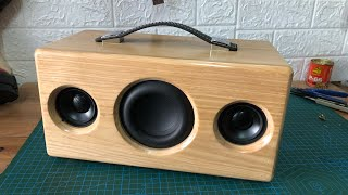 DIY 2.1 Bluetooth speaker