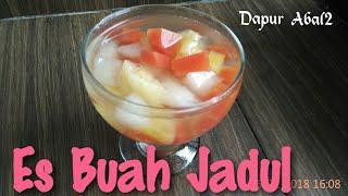 Resep Es Buah Jadul / How to make Indonesian Fruit drink