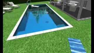 progettazione piscine Piscine sicilia 3D RSpiscinesrl