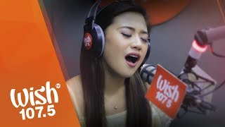 "Morissette covers ""Secret Love Song"" (Little Mix) LIVE on Wish 107.5 Bus"