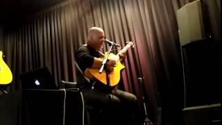 Frank Gambale | Sweep Picking Example 2 | The Guitar Store, Kuala Lumpur Guitar Clinic Nov 2016