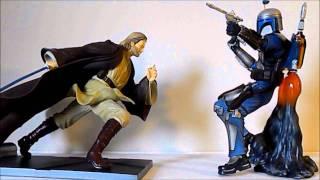Obi-Wan Kenobi vs Jango Fett KOTOBUKIYA
