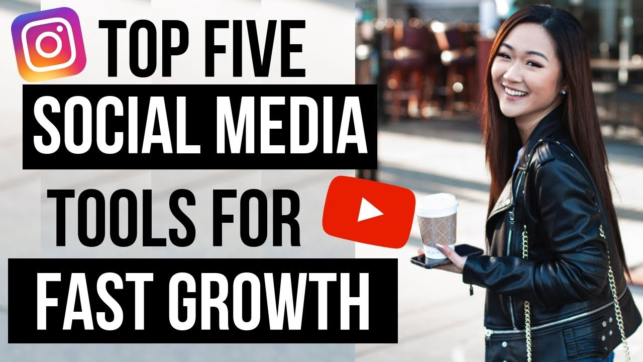 BEST 5 TOOLS for FASTER Organic Social Media Growth 2019 image