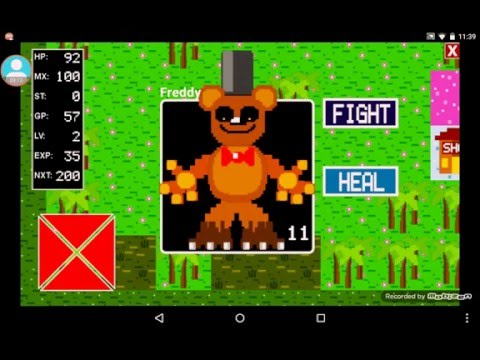 8 Bit RPG Creator FNAF WORLD My Version #1