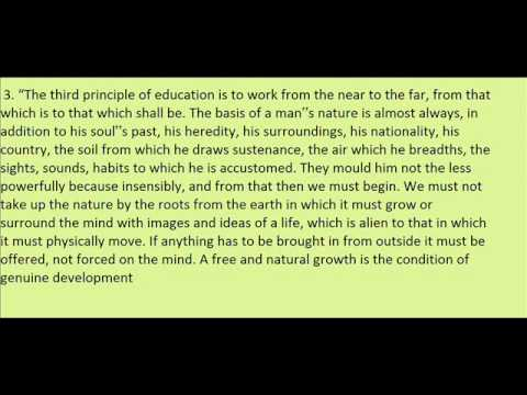 sri aurobindo philosophy of education