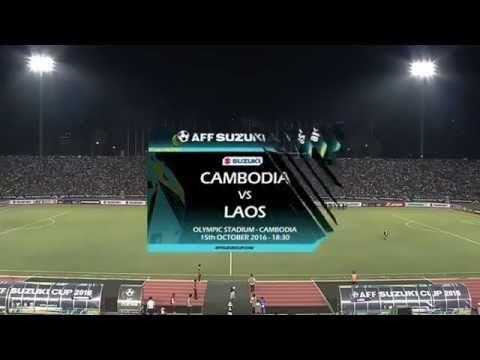 Cambodia vs Laos AFF Suzuki Cup 2016