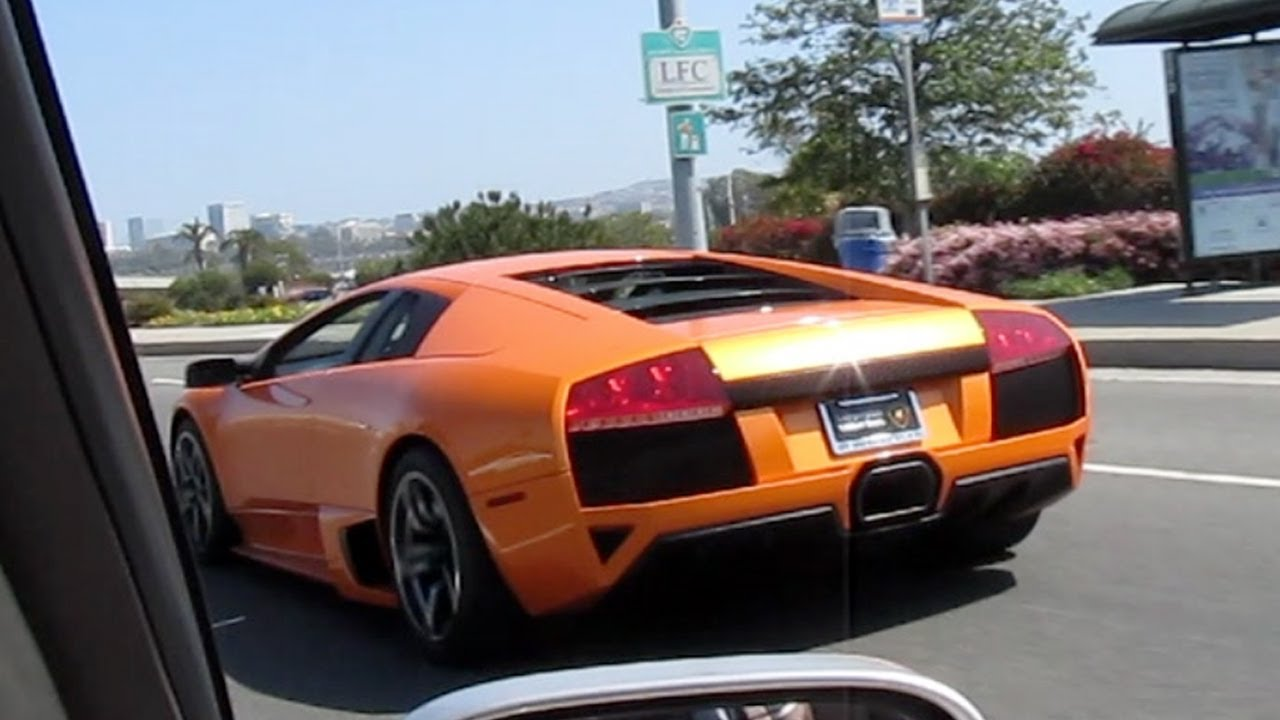 Orange Lamborghini Murcielago Lp640 Sound Youtube