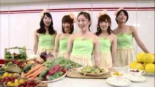 テレビ局の食育ソング「たべまショータイム」のTV-CM 歌:マックル(ひ...