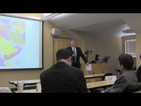 """The New Middle East Cold War"" with Dr. Gregory Gause"