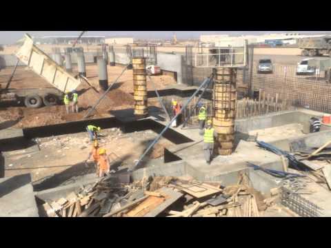 Saudi Airlines Catering Building - TAV Construction 08/11/2014