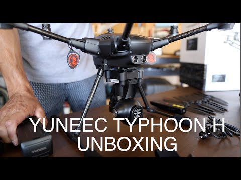 YUNEEC TYPHOON H unboxing