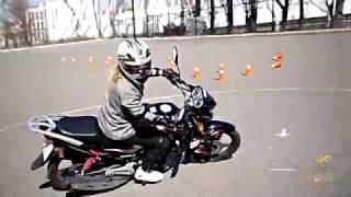Урок езды на Мотоцикле для Девушек - Обзор Подарки-Впечатления Go-Go