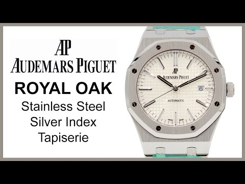 ▶ Audemars Piguet Royal Oak, Silver Index, REVIEW Stainless Steel - 15400ST.OO.1220ST.02