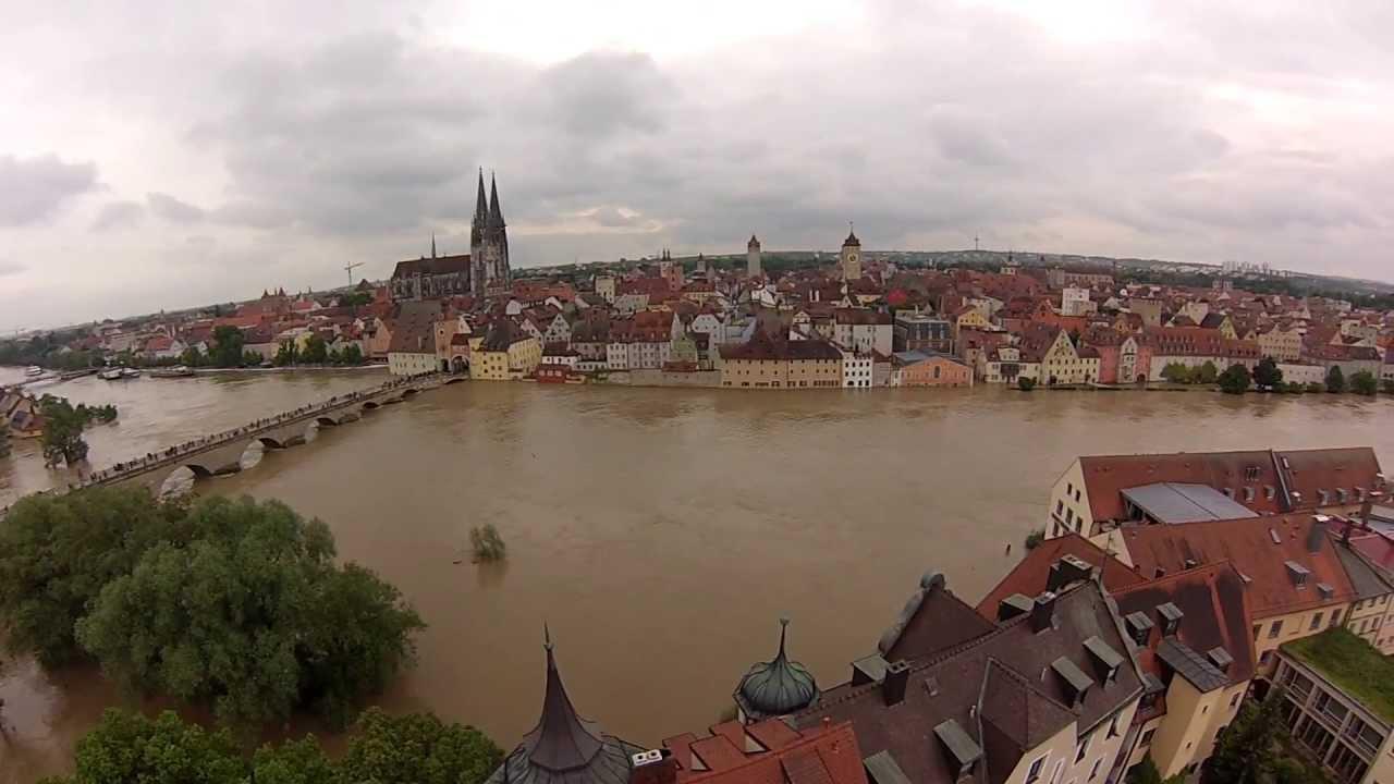 Hochwasser Regensburg