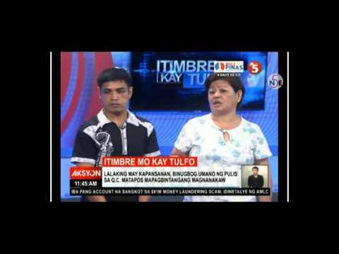 PO1, Naduwag Nang Resbakan Ni Raffy Tulfo Dahil Sa Pambubugbog Ng Isang PWD!