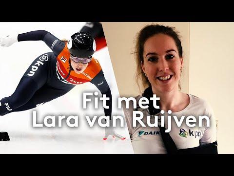Fit met.. shorttrackster Lara van Ruijven | #FitMetTeamNL