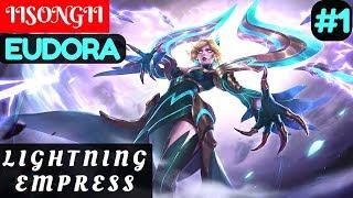 Lightning Empress [Rank 2 Eudora] | IISONGII Eudora Gameplay and Build #1 Mobile Legends