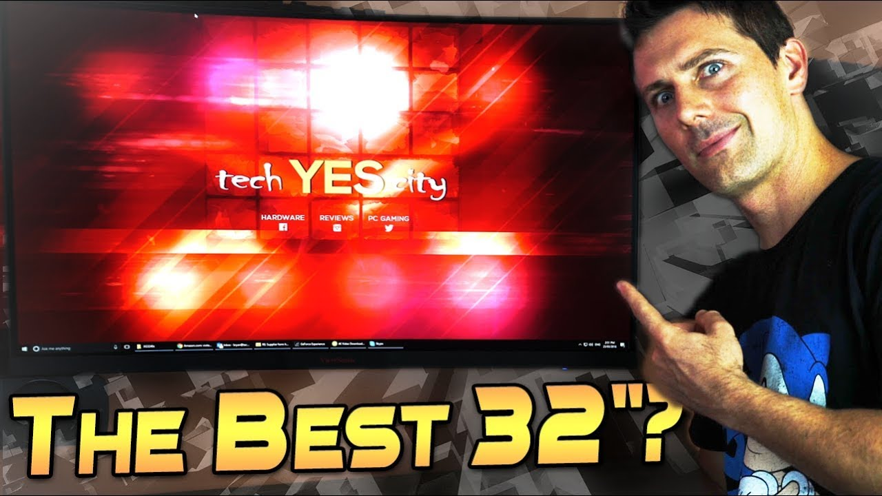 Viewsonic Xg3240c Review 1440p 144hz Curved Va Goodness Youtube Asus Mg279q Gaming Monitor 27ampquot 2k Wqhd 2560 X 1440 Ips Up To Freesync