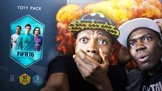 OMG MY BROTHER WANTS THE BEST PACK EVER !!! FIFA 16 PACK OPENING
