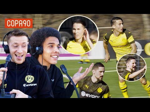 Mind Control Challenge ft. Reus & Witsel | Borussia Dortmund Special with pumafootball